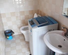 三人间卫浴洗衣机